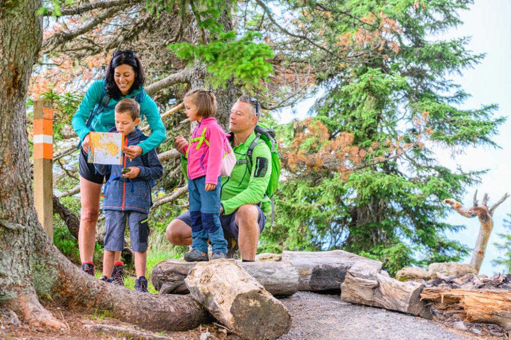 Alpen-OL, Wandern mit Kindern
