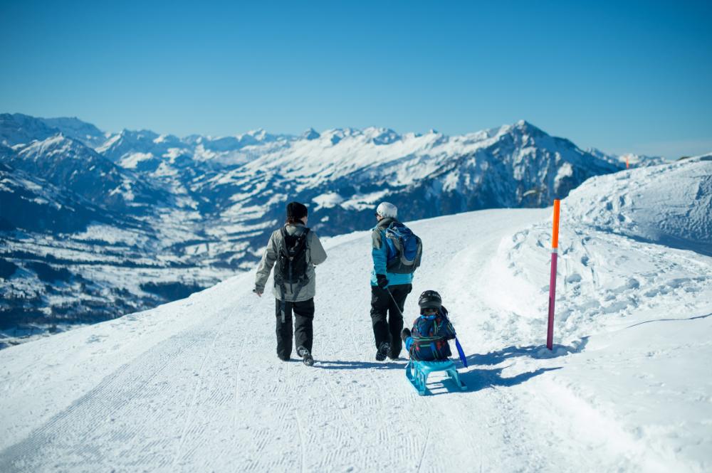 Winterwanderung Niederhorn